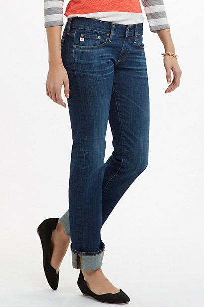 AG Tomboy Relaxed Straight #anthropologie