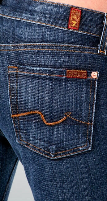 The only brand of designer jeans I own, and well worth the cost because they feel like sweatpants. You can get slightly worn ones for way less on eBay.