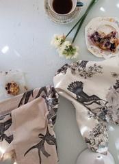 Pony Rider - Antler Teakin - tea towel / napkin