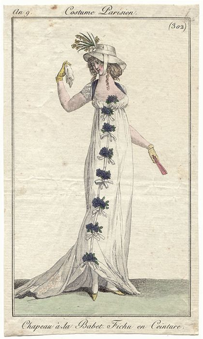 Dress Journal des Dames et des Modes, 1800.