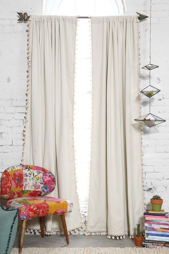 use drop cloths stitch witch and trimming of choice to recreate these drop cloth