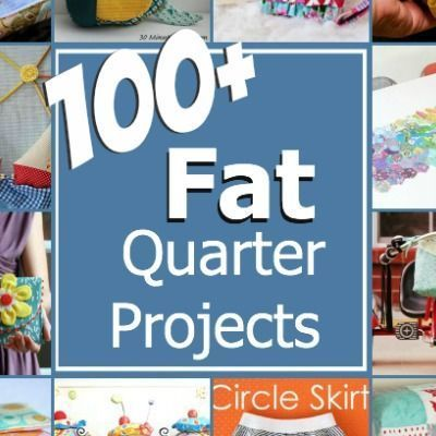 100 plus fat quarter projects. All patterns are free with step by step instructions. The Sewing Loft