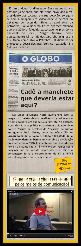O Último dos Moicanos:  A manchete que você não vai ler: PSDB pediu 10 milhões para abafar CPI