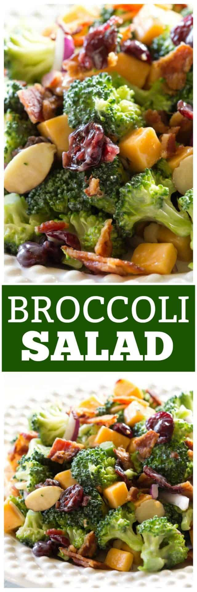 This is the best Broccoli Salad recipe and is always the first to go at BBQs and…