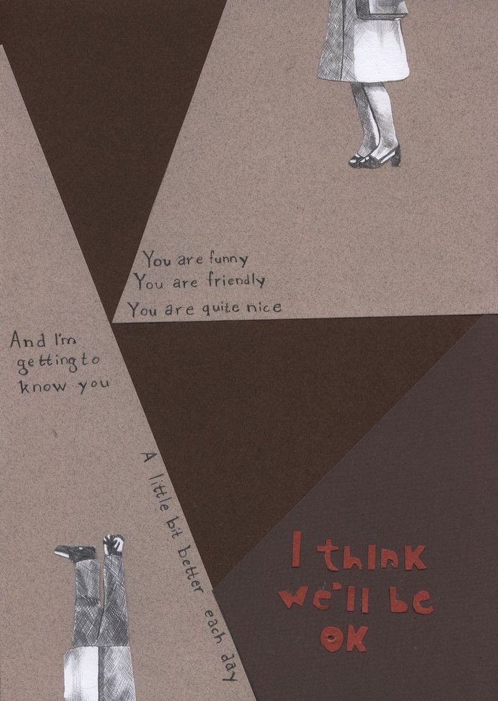 Amanda Karlsson 'Better Each Day' Collage and #drawing