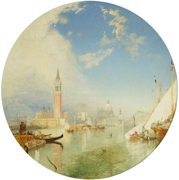 James Baker Pyne - 1847 Saints' Day at Venice