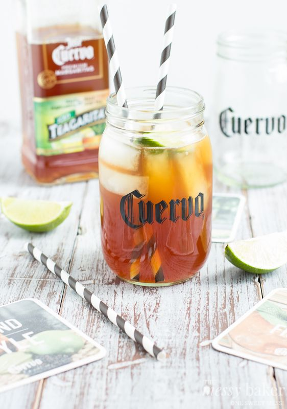 Jose Cuervo Iced Teagarita™ via www.themessybakerblog.com