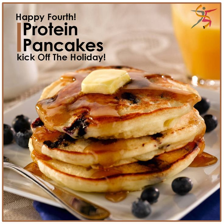 Happy Fourth! Go Red, White, and Blueberry…#ProteinPancakes of course! Way to kick off the holiday!