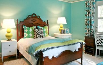 Girl's Rooms - transitional - kids - charlotte - Lucy and Company