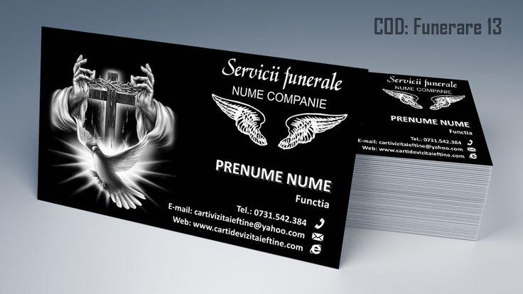 carti de vizita funerare, pompe funebre, servicii funerare, funeral business cards template