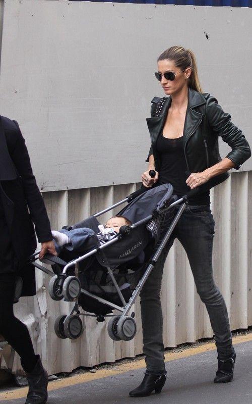 Gisele Bundchen and Tom Brady with baby Benjamin - Page 9 - PurseForum