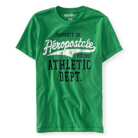 T-shirt col rond vert Aérospostale