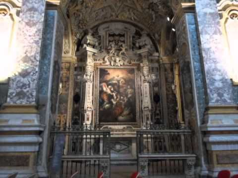 Неаполь. Музей, на который я набрела в один из дней перед Рождеством. Я была единственным посетителем и мне разрешили делать фото. Все готовились к Рождеству, в музеи в это время не ходят. Я ходила мимо много раз, думая что это действующая церковь. А оказался музей.