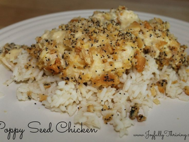 Delicious Poppy Seed Chicken