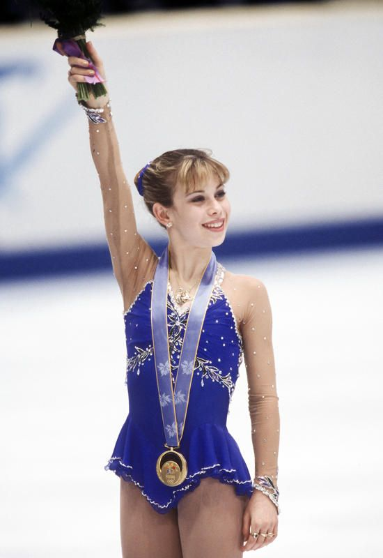 Tara Lipinski at the Nagano 1998 Winter Olympics