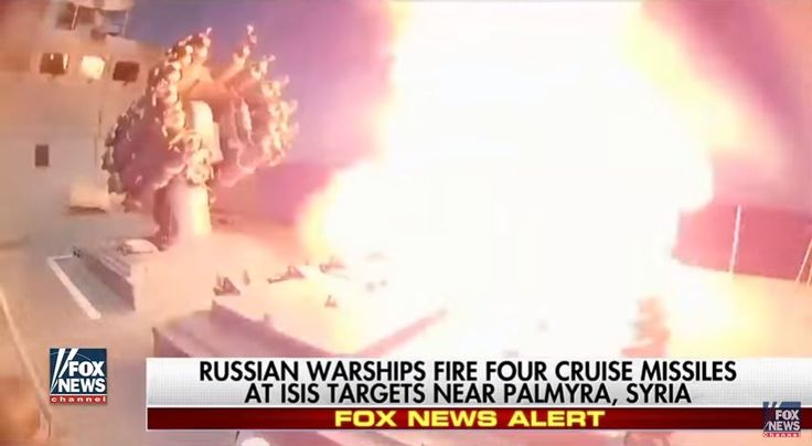 The Russian military has confirmed its navy blasted ISIS strongholds in Syria on Wednesday, launching offensive airstrikes from the Mediterranean Sea against the Islamic State, reports the NY Post.    According to the Russian defense ministry, at least four cruise missiles were fired from two warships against ISIS complexes in the Syrian city of Palmyra, though the official