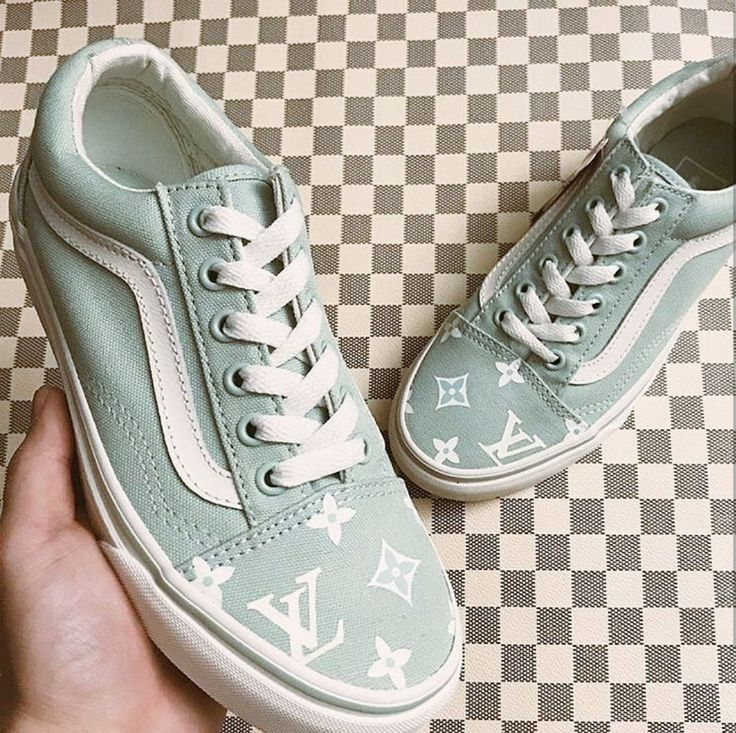 Louis Vuitton Custom Vans Old Skool