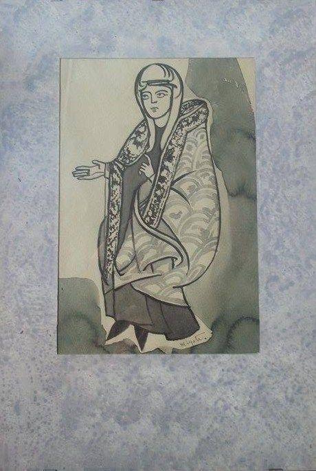MATILDE DI CANOSSA - painter :  HIKARI MIYATA