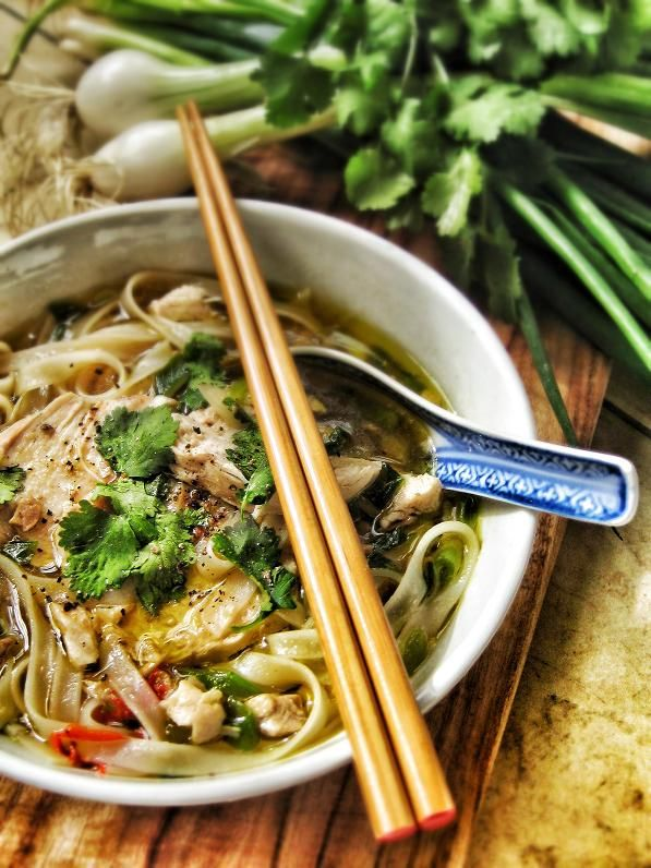 Healing Chicken Noodle Soup – good for broken hearts, hangovers and sniffles
