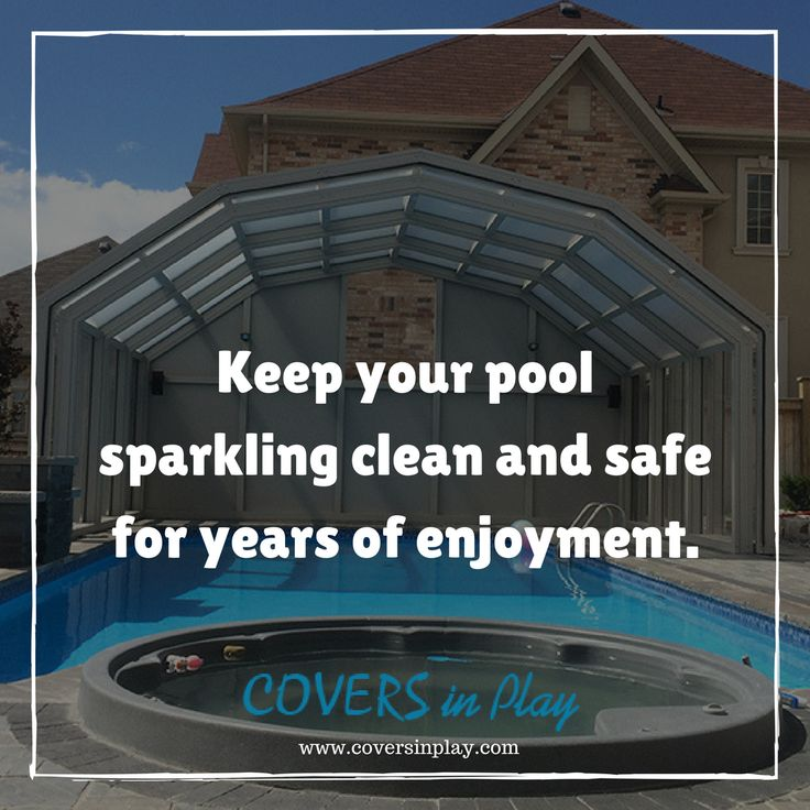 Maintaining your pool can be a tedious job, but it's an important part of keeping your pool sparkling clean. 	https://goo.gl/1o01zC	 #PoolCover #Cover #Enclosure #PoolEnclosure #IndoorPools   #SwimmingPool #PoolTips