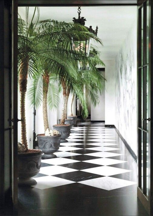 FUTURE Tropical Chic interior decor with a touch of classical elemts