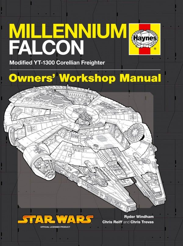 Millennium Falcon Owner's Workshop Manual #StarWars #Books | My ...