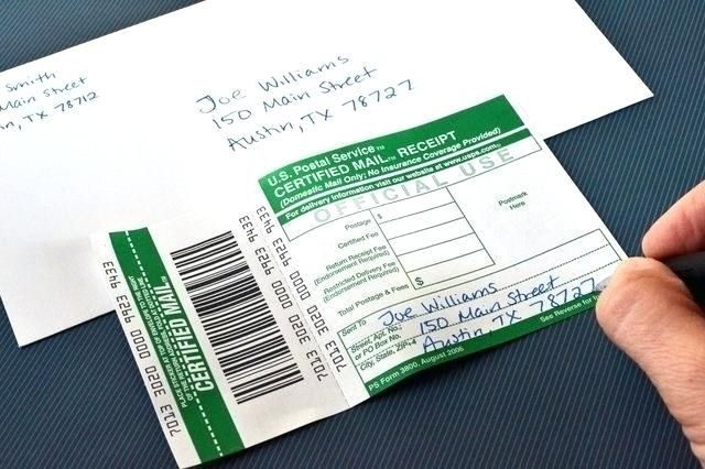 How To Send Certified Letter.How Much To Send A Certified Letter With Return Receipt How