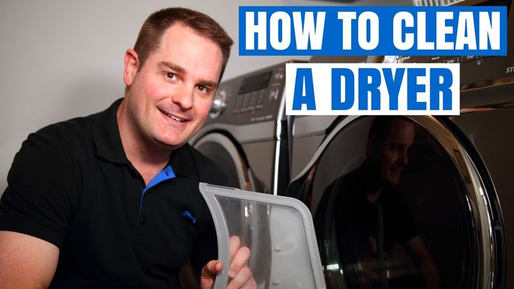 DRYER VENT CLEANING AND MAINTENANCE  (QUICK & EASY) !! - YouTube