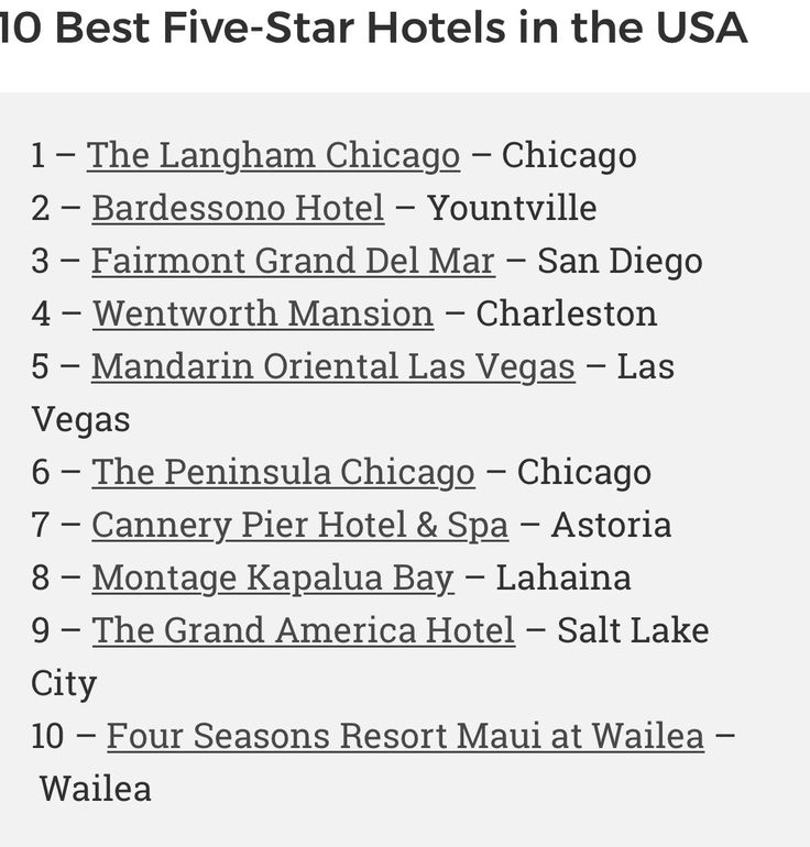Notice the Trivago ranking of The Mandarin Oriental Las Vegas. It's among the best 5 star hotels in America. room5.trivago.com/best-hotels-in-usa-2018/