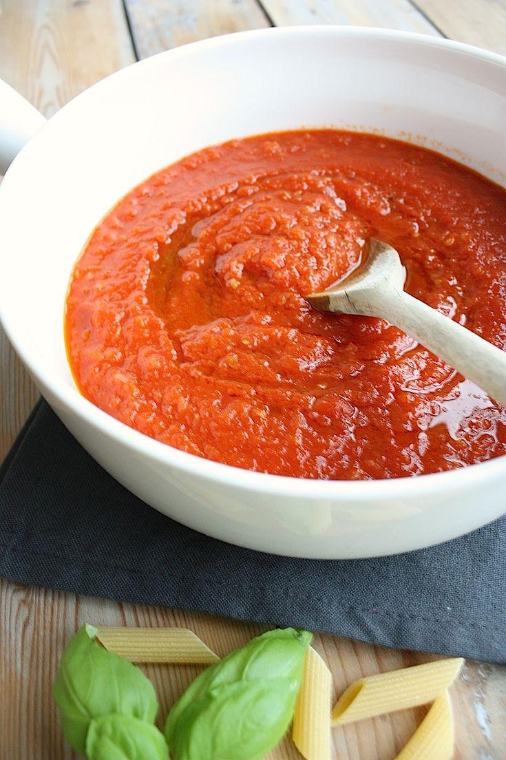 Francesca kookt met Foodelicious_Italiaanse tomatensaus_2