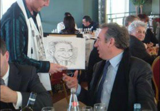 Soirées pleines de surprises avec les caricaturistes #soiree