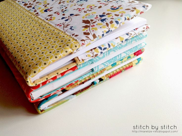 Stitch by Stitch: Fabric Book Cover Tutorial