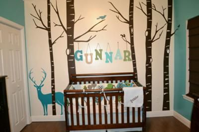 Blog with multiple nursery ideas I like.