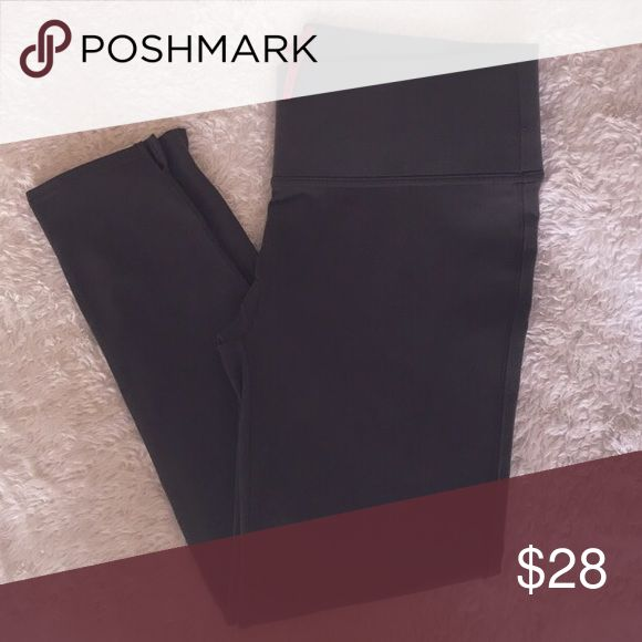 High-rise tummy control leggings Brown high-rise tummy control Spanx leggings. 89%polyester, 11%spandex with elasticized tummy control waistband. Size XL (Do fit snug! They definitely suck everything in!). 34in waist, 36in length. Washed and worn once. SPANX Pants Leggings