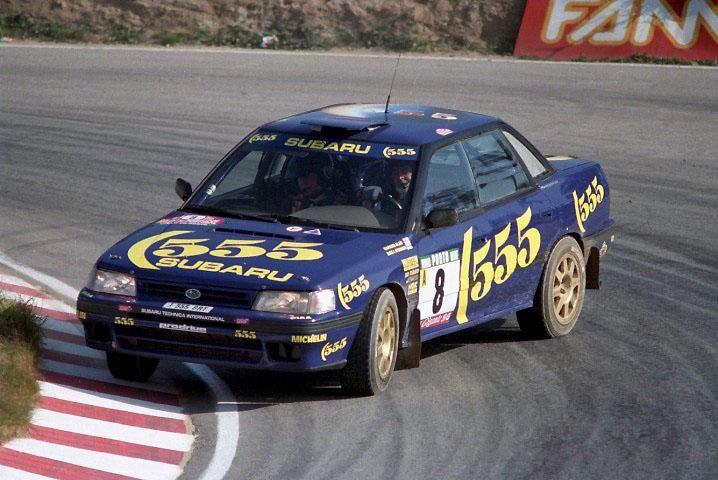 1993 Subaru Legacy RS-Markku Alén-Ilkka Kivimäki-4eme