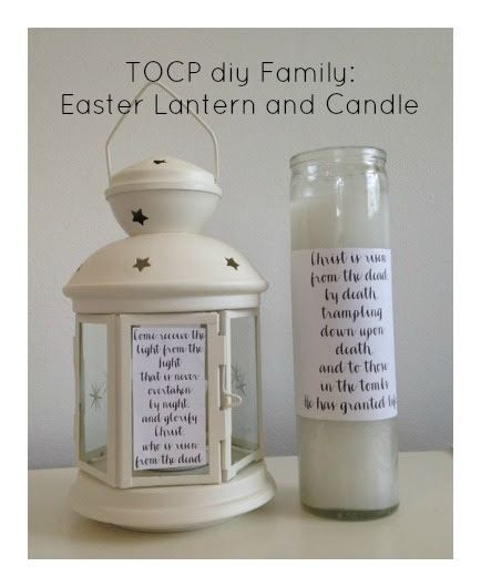 TOCP diy family: Easter Lantern and Candle http://www.theorthodoxchildrenspress.com/diy-kids/tocp-diy-family-easter-lantern-and-candle/