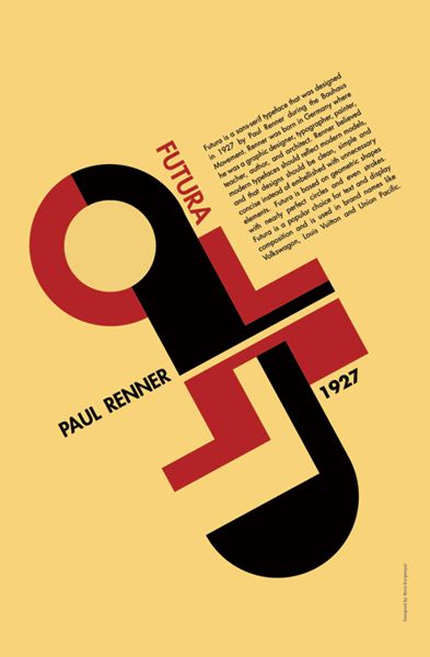 Paul Renner | awesome use of type