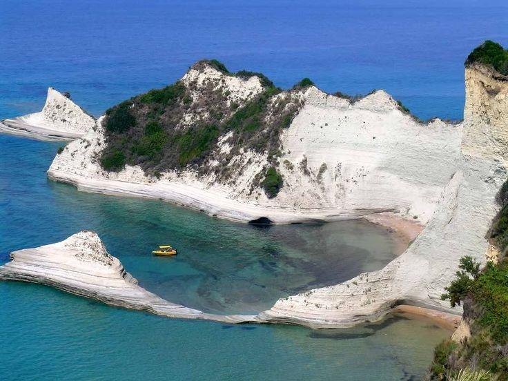 10 Petroulades beach , Corfu island