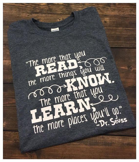 Dr Seuss Teacher T-Shirt Read Across America Shirt by MissyLuLus