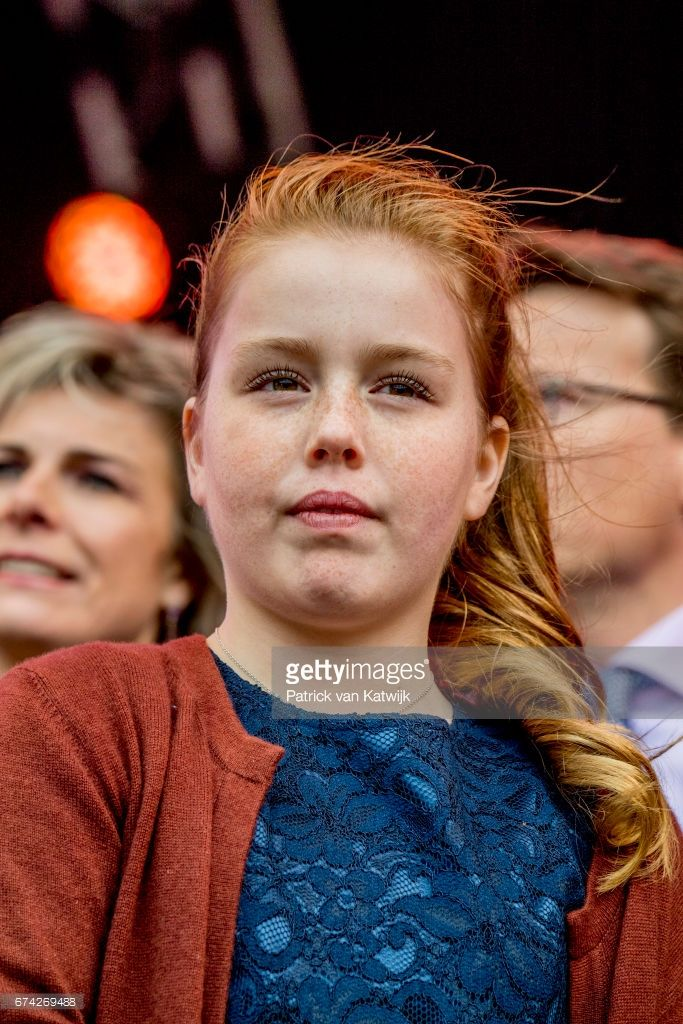 Princess Alexia of The Netherlands attends the King's 50th birthday during the Kingsday celebrations on April 27, 2017 in Tilburg, Netherlands.