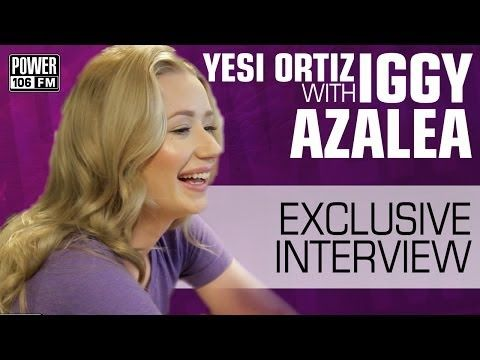 "▶ Iggy Azalea Talks About The ""Fancy"" Music Video & Her GQ Photo Shoot w/ Yesi Ortiz - YouTube"