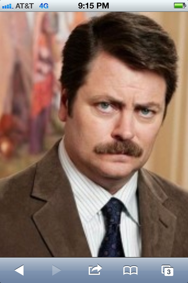 ron swanson ron swansonparks and recreationfacial haircostume ideas - Halloween Costumes With Facial Hair