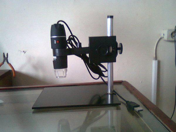 Mikroskop Digital USB 1000x mampu menampilkan objek 1000 x pembesaran, dilengkapi dengan software measurment untuk mengukur kalibrasi objek dan bisa di conevrsi ke Ms. Word atau Excel.