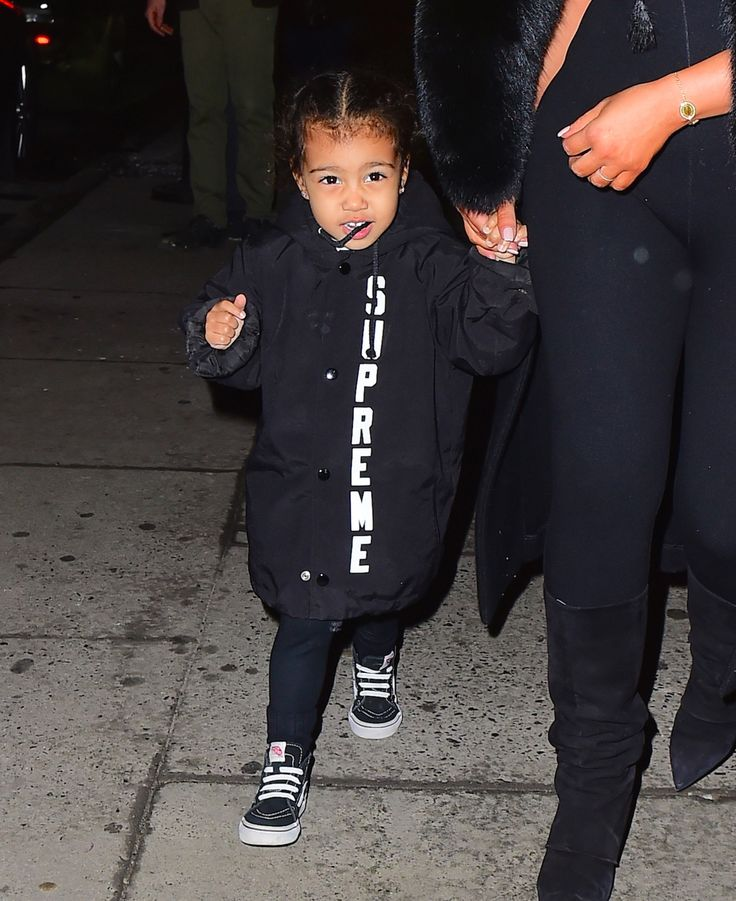 North West Is a Supreme Street Style Toddler