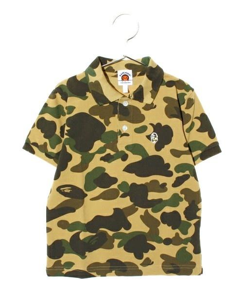 BAPE KIDS(ベイプキッズ)の1ST CAMO POLO(ポロシャツ)|イエロー