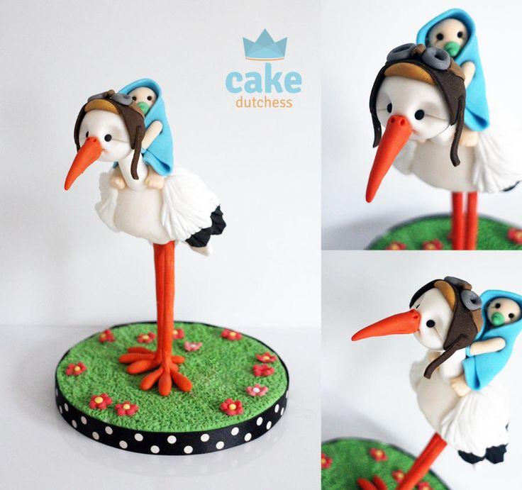Stork by Etty