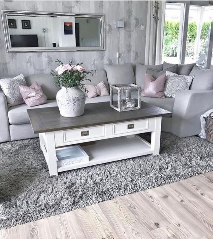 45+ Awesome Grey/Gray Living Rooms for Gorgeous & Stylish Spaces