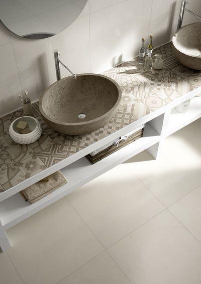 Rivestimenti, piastrelle e pavimenti Marazzi - linea Block - piastrelle per il bagno #interior #design