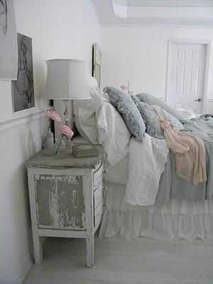 whites and pastels