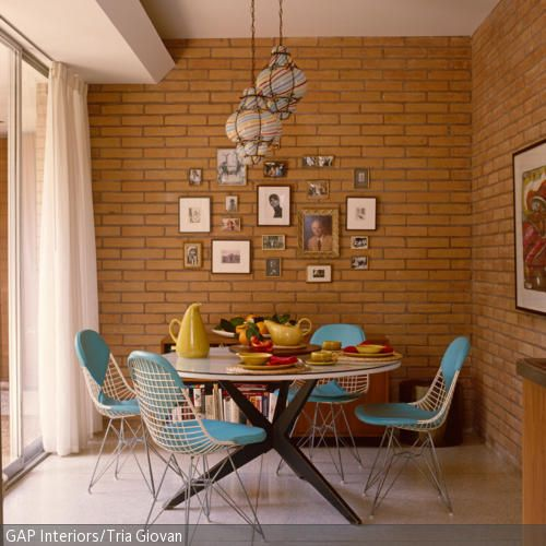 40 best Wohnen im Retro-Stil images on Pinterest Style, At home - modern turkis
